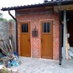 двери пластиковые золотой дуб